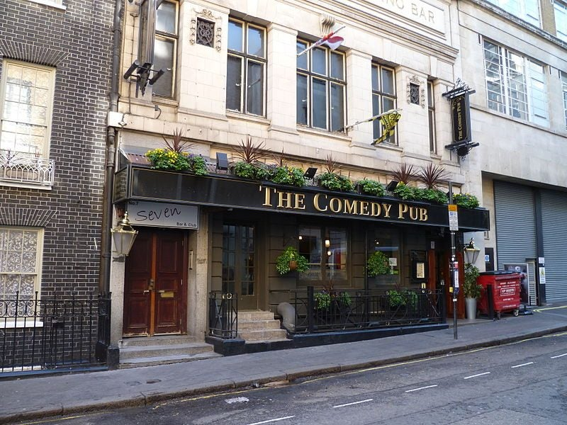 the comedy pub - blog Opodo