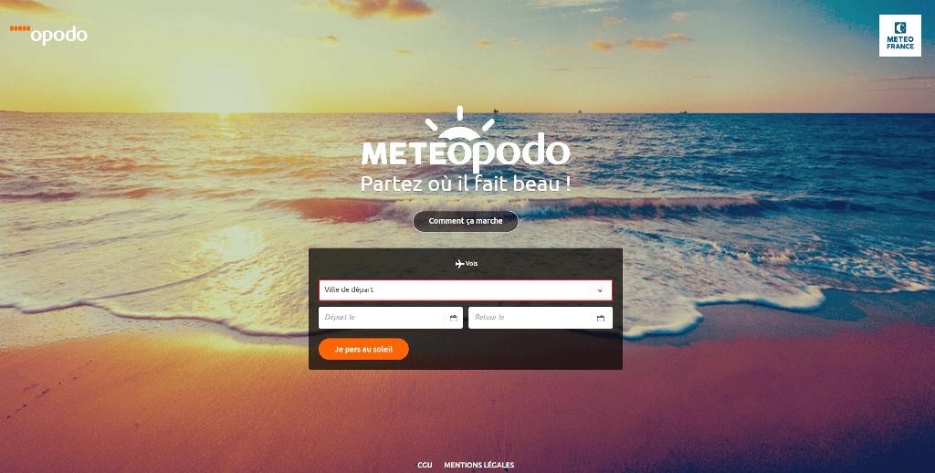 M t opodo le premier site pour r server ses vacances au for Meilleur site reservation voyage
