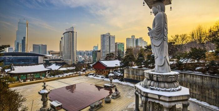 Bongeunsa - Séoul - blog Opodo