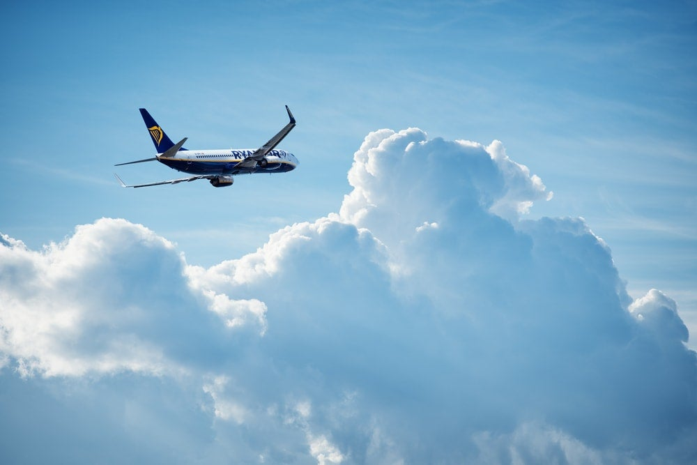 avion ryanair - blog Opodo