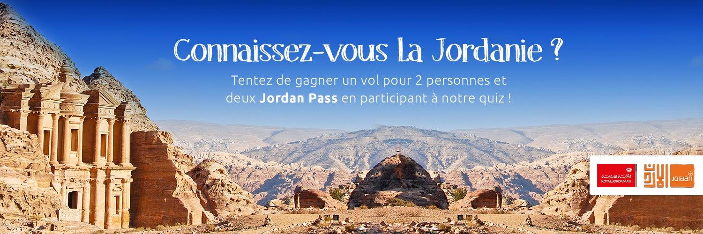jeu concours jordanie - blog opodo