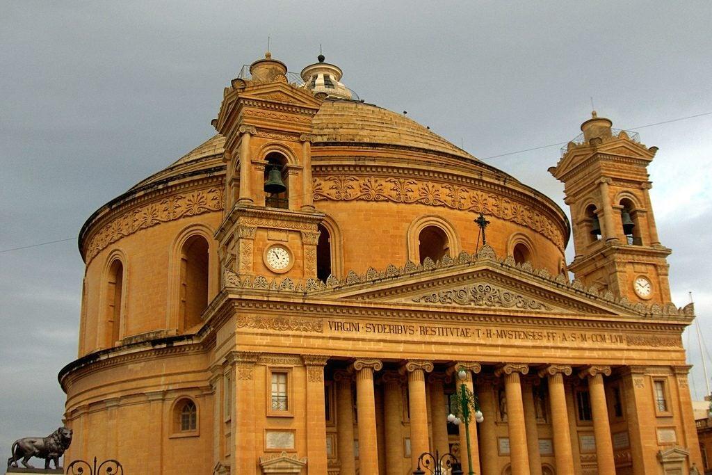 Rotunda Mosta Malte Opodo