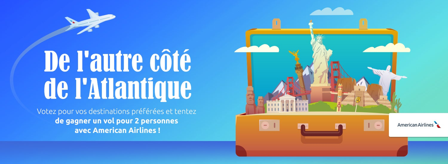 jeu concours american airlines - blog Opodo