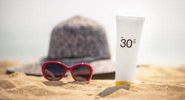 La protection solaire en vacances