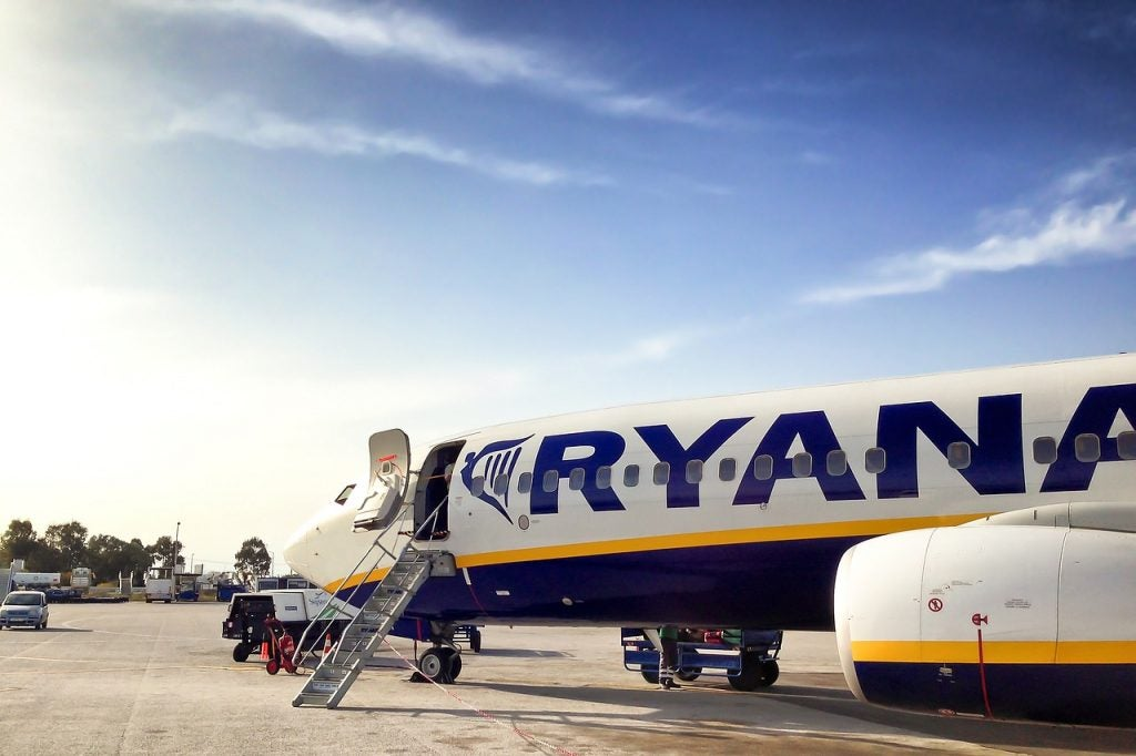 vol Ryanair - blog Opodo
