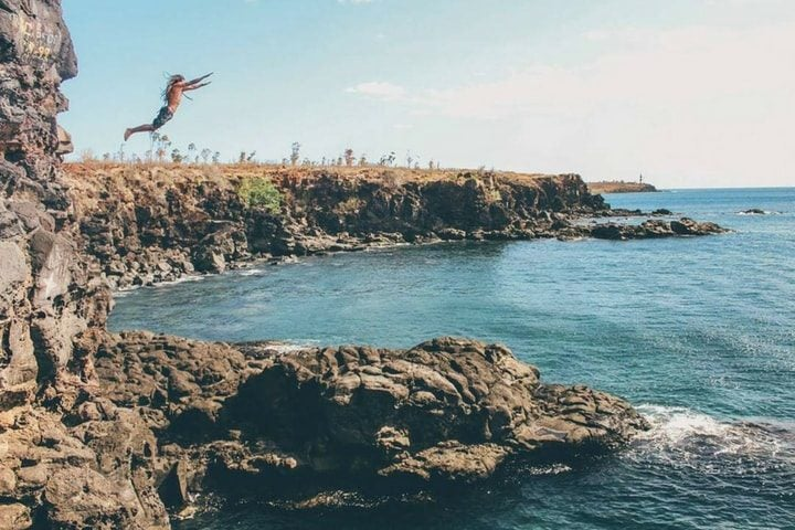 Saut d'une falaise - blog Opodo