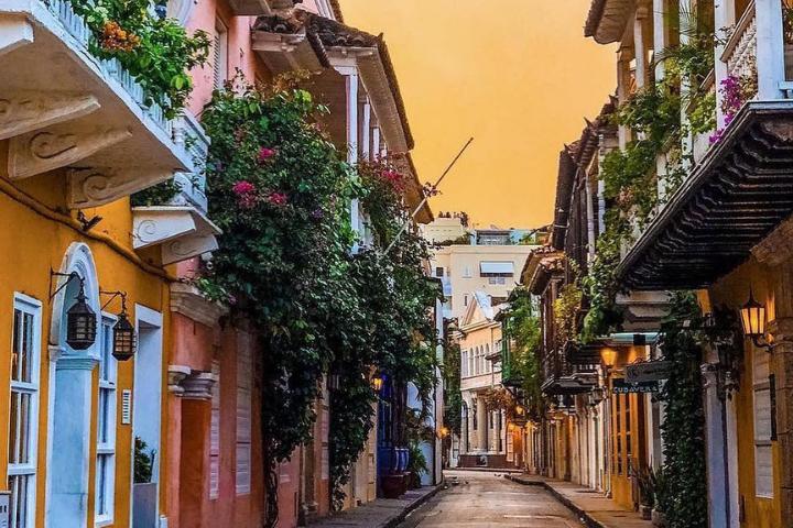 Rue de Carthagène des Indes - Colombie