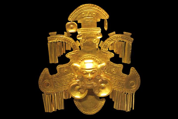 Pièce Musée de l'Or - Bogotá, Colombie
