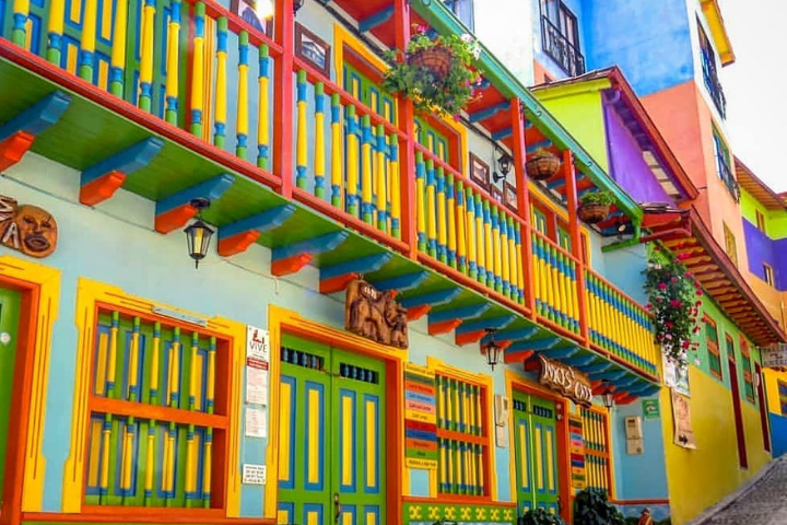 Rues colorées de Guatapé - Colombie
