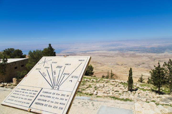 Mont Nebo - Jordanie