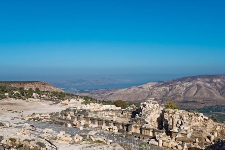 Ruines romaine en Jordanie - Jordan trail