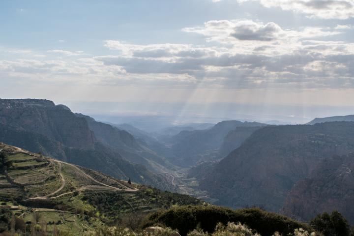 Vallée de Dana -Jordanie