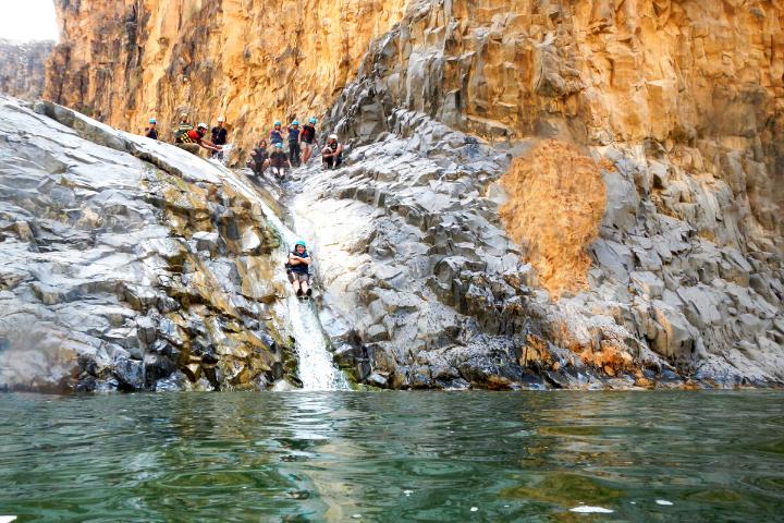 Canyoning en Jordanie - Wadi Mujib