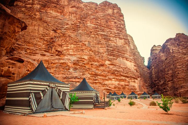 Camp bédouins - Wadi Rum - Jordanie