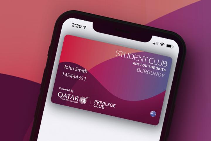 Student Club qatar Airways