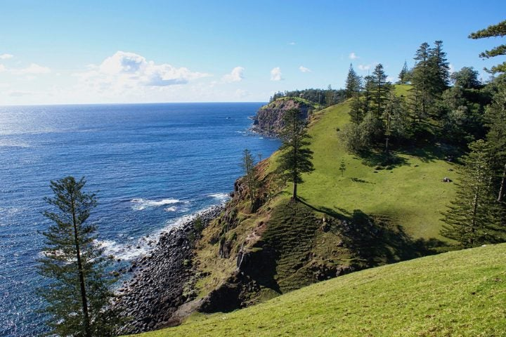 Ile de Norfolk en Australie