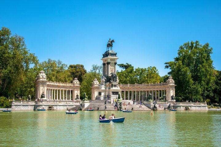 Parc del Retiro à Madrid