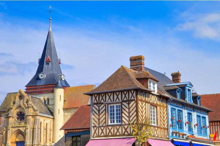 Maisons à colombages de Beaumont-en-Auge, Normanie