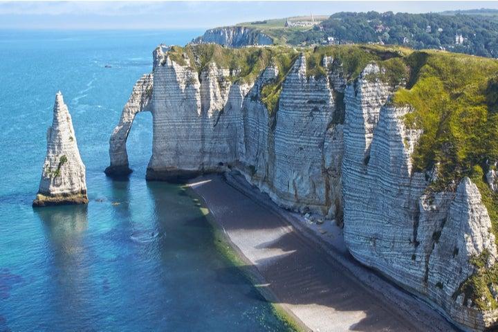 Les falaises d'Etretat, Normandie